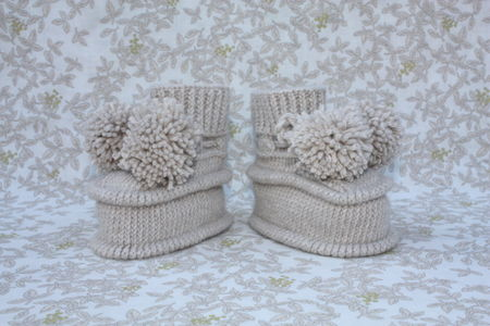 Posy bootees side view 1