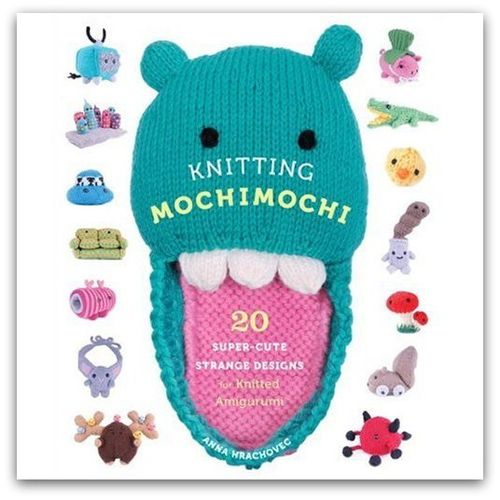 Knitting mochimochi book cover 2
