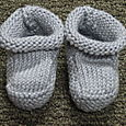 Classic Cashmere Baby Booties
