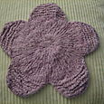 Reverse Bloom Flower Washcloth