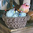 Bird's Nest Pincushion