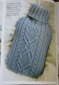 Knitted Hot Water Bottle Pattern Patterns Gallery